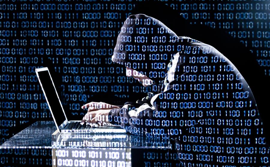 Hacker Phishing Internet scam