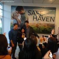 Safe Haven Movie Tech Press Tour: Romance meets Social Media