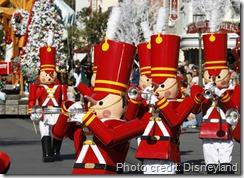 A Christmas Fantasy parade Disneyland