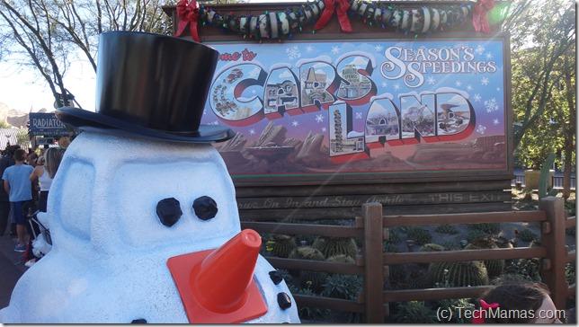 Disneyland holiday Carsland