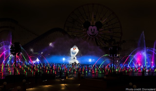 Olaf World of Color Holiday Winter Dreams