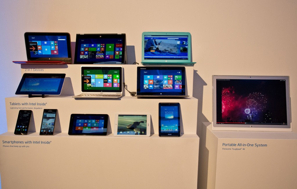 Intel Showcase of the Future: Devices
