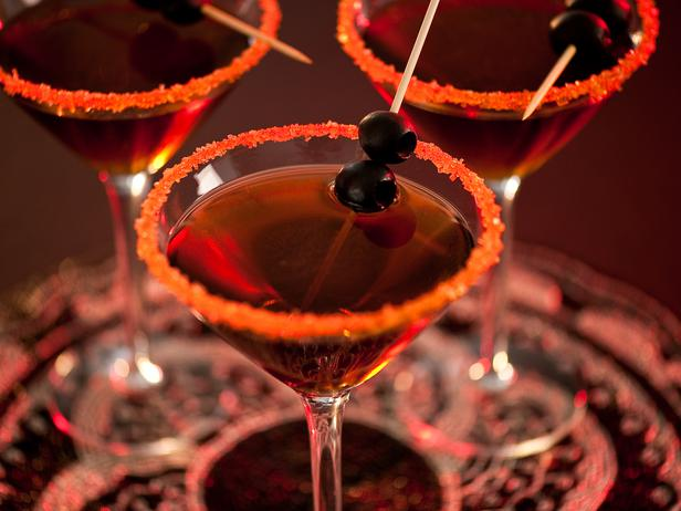 Halloween Cocktail Photo by Steve Murello  via HGTV