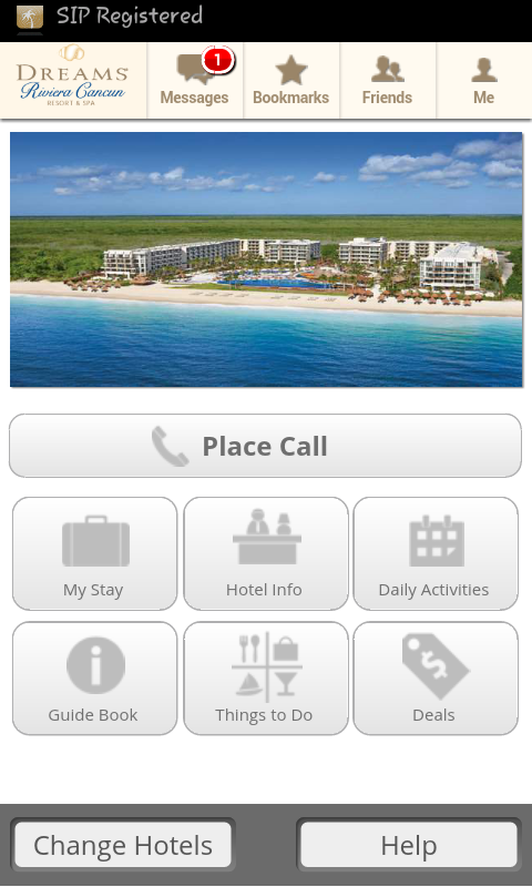 Dreams Rivieria Cancun Unlimited Connectivity App