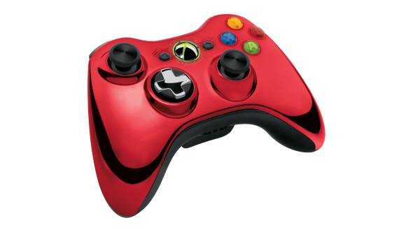 Xbox 360 Chrome Series Wireless Controller