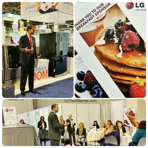 LG Electronics #LGMomCES