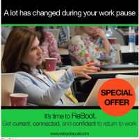 Special Offer: SIGN UP For ReBoot #Career Accelerator for #Women