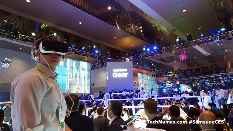 Samsung Gear VR #CES #CES2016