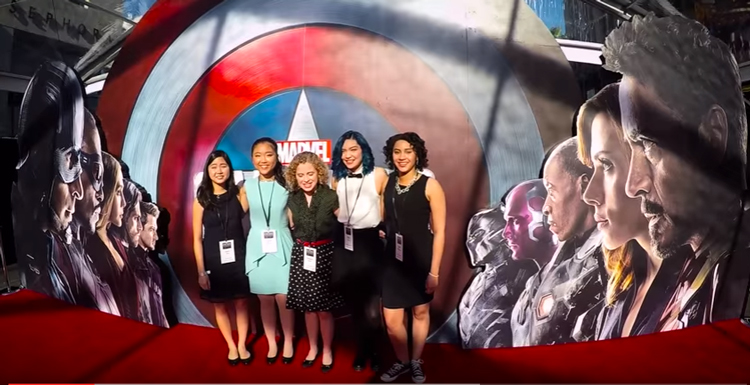 Captain America Dolby Girls STEM