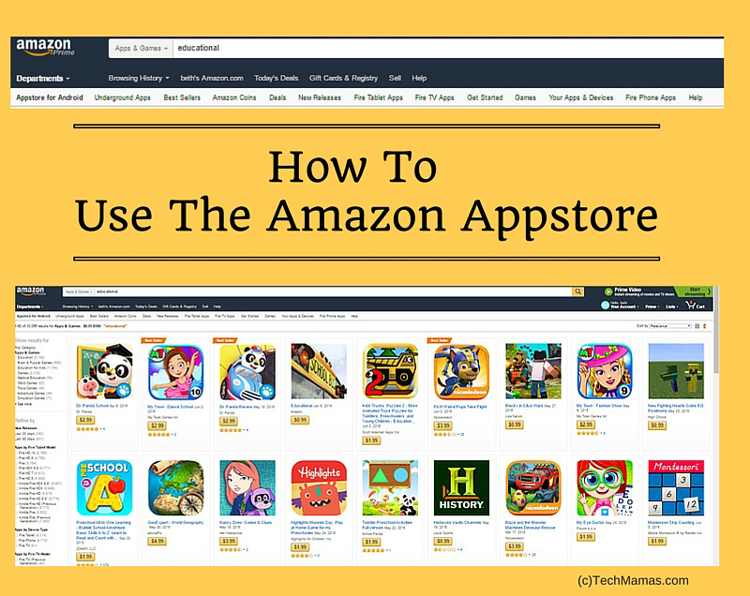 How To Use Amazon Appstore